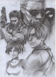 RESIDENT EVIL by ChanChili