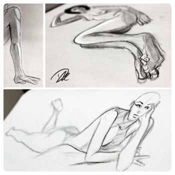 Life Drawing dump 1 by dhulteen
