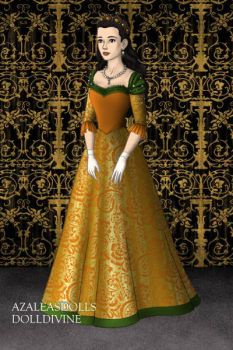Narnian formal wear- Susan by loverofbeauty