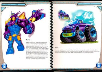 OVERDRIVE, Norm And Stenn-Spread by dragondragon
