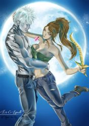 Commission couple Ice and Lynette. by AngelaLara
