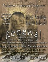 Alicia Menninga's Music 3rd CD Release Flyer by SuperstarUniverseLLC