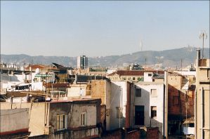 Barcelona - View from the roof by nftadaedalus