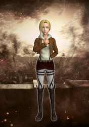 Annie Leonhart XPS download by Chaotixninjax