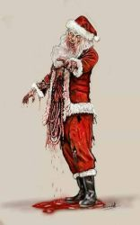 zombie Father Christmas  by Genggendall
