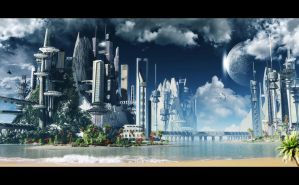 season city ,tropical city by arkan4d