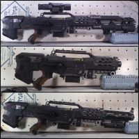 CS-6 Pulse Rifle by SeanMonster