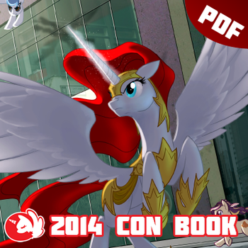 BronyCAN 2014 Convention Guide Book by Firestorm-CAN