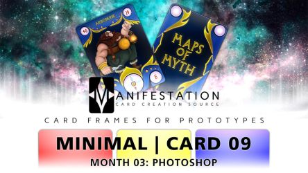 Month 03: Card 09 - Photoshop (Minimal | Past Age) by CauseThought