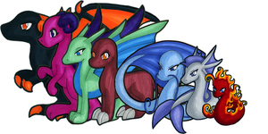 Dragons of the Realm by Zargata