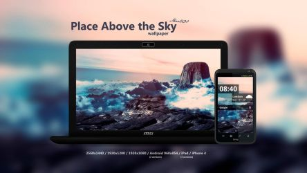 Place Above the Sky Wallpaper by Martz90