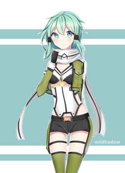 Sinon by Wildhadow
