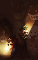 Mario Brothers by BloodnSpice