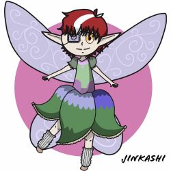 Cute little fairy for DTA by Jinkashi