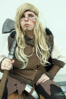 Baerhild Eilifdottir - LARP - RPC 2013 by RandomPudding