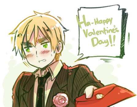 H-happy Valentine's... by Cioccolatodorima