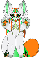 Toxic pumpkin Anthro - Auction OPEN by Brownie-Adopts