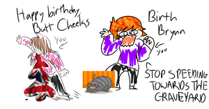 wish these two nerds a good birth by royalraptors