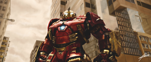 Avengers:Age of Ultron - Iron Man Hulkbuster Armor by Fgore