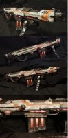 Mass Effect / District 9 Inspired Nerf Sniper by Atropos907