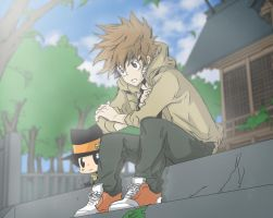 Tsuna And Reborn: I'm Not Gonna Let You Die by fullmetaljuzz