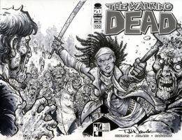 Walking Dead 100 by ToddNauck