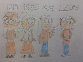 Linka throughout the decades by tanasweet123