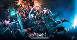Aion Fan Art: The Asmodian by engkit
