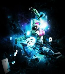Space dance II by double-graphic