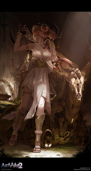 ARTWAR : Artemis by dishwasher1910