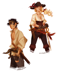 In which Percy is a pirate. by viria13