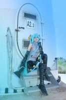 cosplay miku from vocaloid 2 by Lucy-Dark-Dreams
