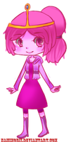Princess Bubblegum Chibi by Namimorii