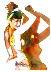 Bettie Page 4 by markmchaley