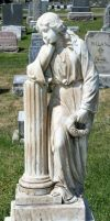 Mount Olivet Cemetery Woman 200 by Falln-Stock