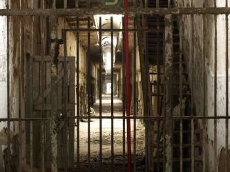 Eastern State Penitentiary 25 by Dracoart-Stock