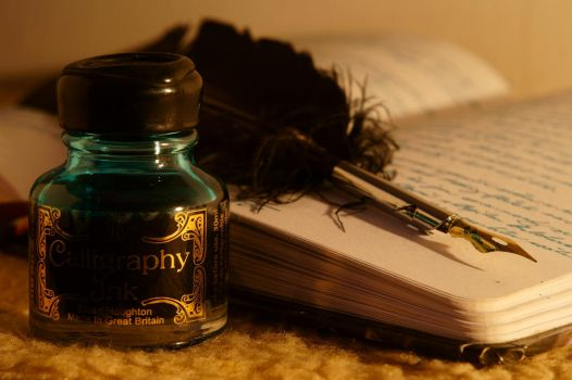 Calligraphy Ink by PhotoDragonBird