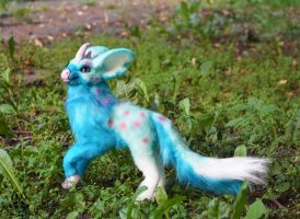 Poseable toy commission for skyantelope by MalinaToys