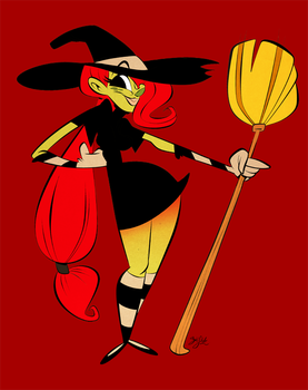 Wizzle the Witch by Themrock
