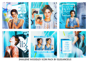 Shailene Woodley Icon Pack by eleganceuss