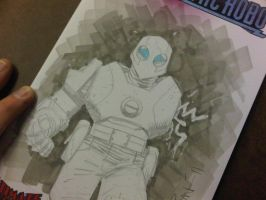 Atomic Robo AAcomicon sketch by RyanOttley