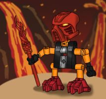 BIONICLE: Turaga Tahu by Flameydragwasp