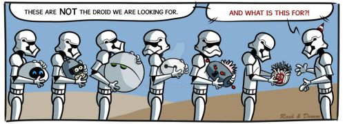 The droid we are looking for? by demm9000