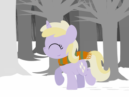Dinky in the Snow by postcactus