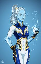 Lightning (Earth-27) commission by phil-cho