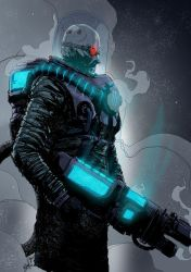 Tristan Jones' Mr. Freeze colors by wheretheresawil