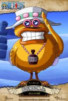 One Piece - Bourbon Jr. by OnePieceWorldProject
