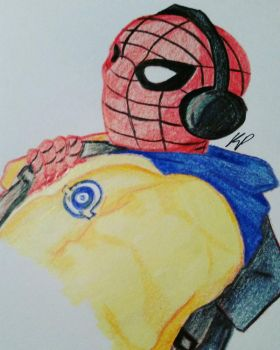spiderman  by artisticpenguins