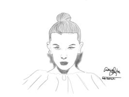 Millie bobby brown by 23ralp