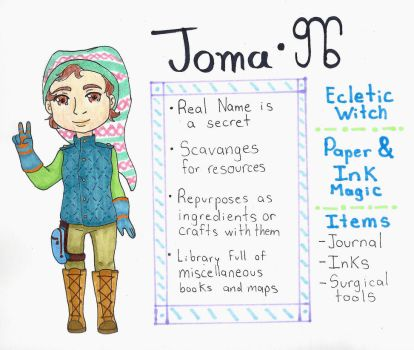Joma [Witchsona] by antique-jezka